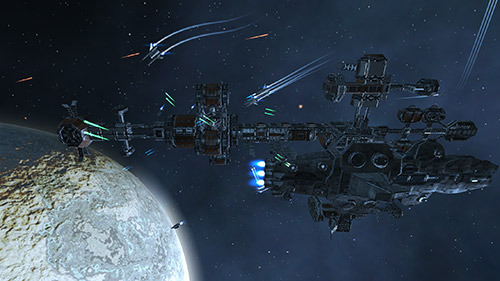Project Charon: Space fighter captura de pantalla 1