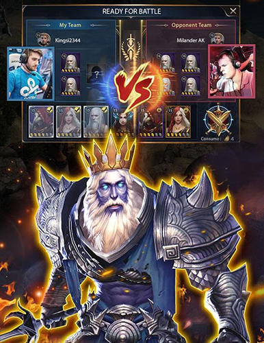 Heroes of COK: Clash of kings für Android