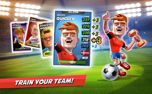 Arcade Boom boom soccer für das Smartphone