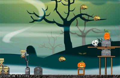 Screenshot Wütende Zombies am Start auf dem iPhone
