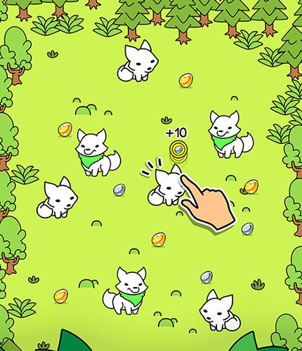 Zeitkiller Fox evolution: Clicker game auf Deutsch