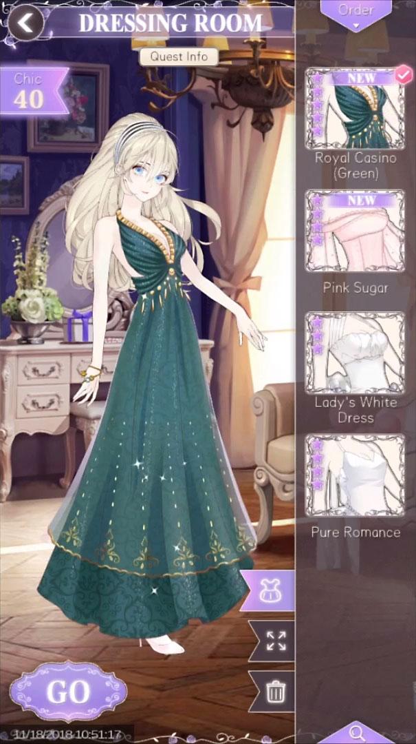 Helix Waltz - Dress Up Drama para Android