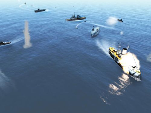 Screenshot Sieg auf dem Meer auf dem iPhone