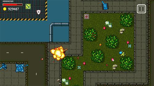 Rust tank 2D Screenshot