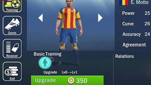 Soccer shootout screenshot 1