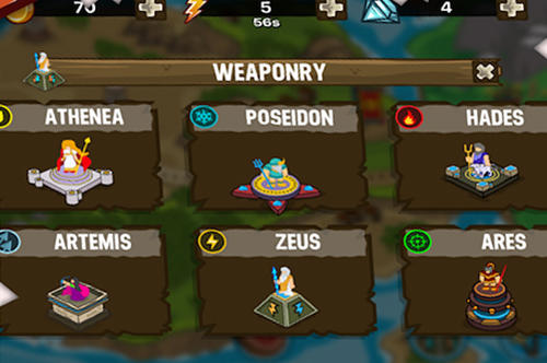 Olympus defense: God Zeus TD für Android