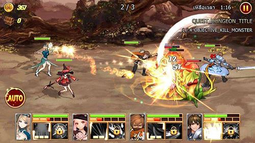 Anime King's raid auf Deutsch