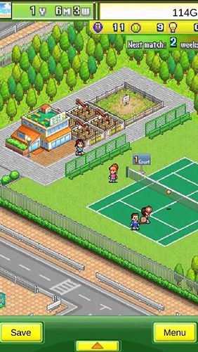 Tennis club story for iPhone for free