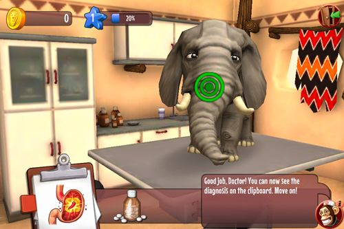 Animal hospital 3D: Africa for iPhone