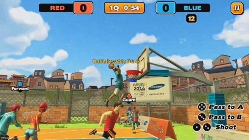 Street dunk: 3 on 3 basketball для Android