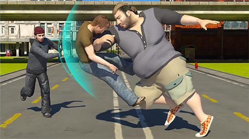 Kämpfen Hunk big man 3D: Fighting game für das Smartphone