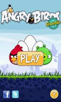 Angry Birds Shooter скриншот 1