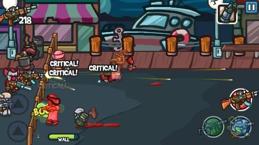 Arcade-Spiele Zombie guard für das Smartphone