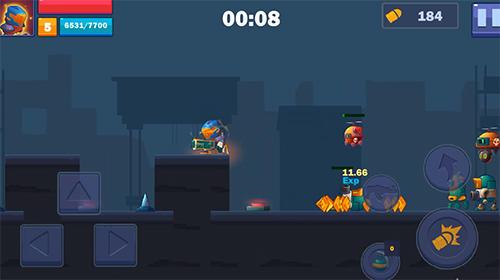 Arcade Metal shooter: Se7en hero für das Smartphone