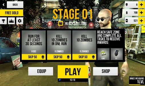 TPS Last run: Dead zombie shooter auf Deutsch