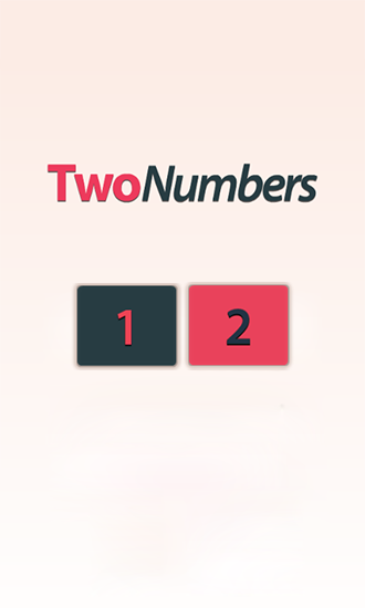 Two numbers Screenshot