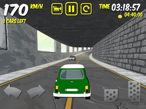 Screenshot Die Fahrt: Devil's Run auf dem iPhone