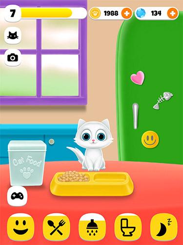 Simulator-Spiele Paw paw cat für das Smartphone