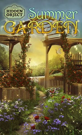 Hidden object: Summer garden скріншот 1