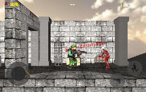 Arcade Doom of zombie killer für das Smartphone
