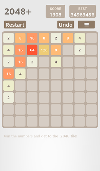 2048 plus by Sun rain auf Deutsch