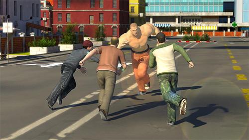 Hunk big man 3D: Fighting game auf Deutsch