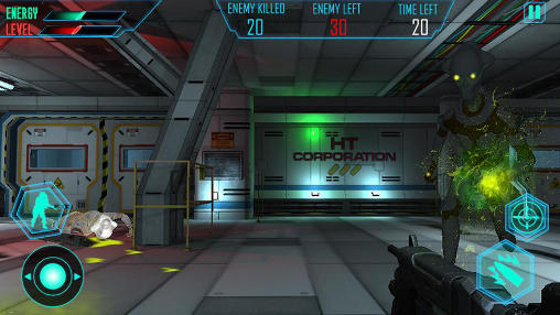 Alien space shooter 3D captura de tela 1