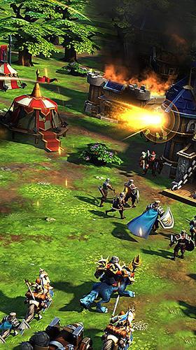 Online Strategiespiele Glory of thrones: War of conquest auf Deutsch