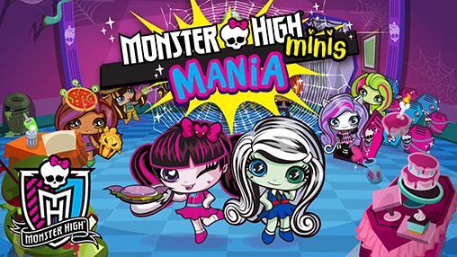 Monster high: Minis mania captura de tela 1