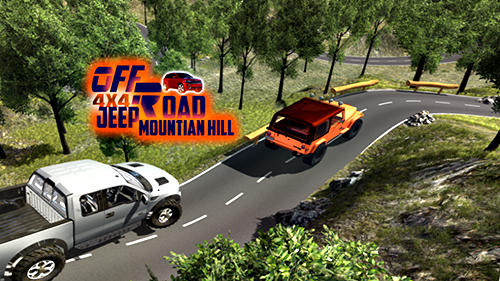 4x4 offroad jeep mountain hill captura de tela 1