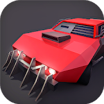 Traffic slam: Zombie drift hunters Symbol