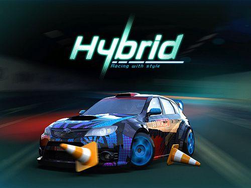 логотип Гибридные гонки