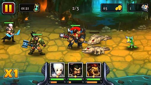 Heroes of the alpha arena capture d'écran 1