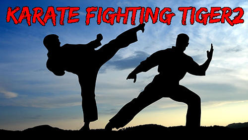 Karate fighting tiger 3D 2 Symbol