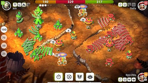 Screenshot Pilzkrieg 2 auf dem iPhone