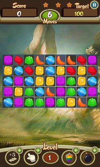 Arcade-Spiele Candy crusade für das Smartphone