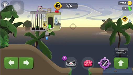 Arcade-Spiele Zombie catchers für das Smartphone