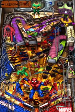 Komplett saubere Version Marvel Pinball ohne Mods