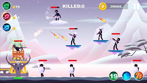 Arcades Archer duel pour smartphone