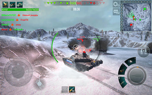 Tank force: Real tank war online captura de pantalla 1