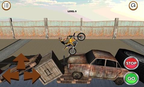 3D motocross: Industriel
