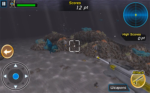 Survival spearfishing Screenshot