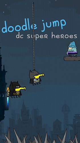 Screenshot Doodle Jump: Superhelden auf dem iPhone