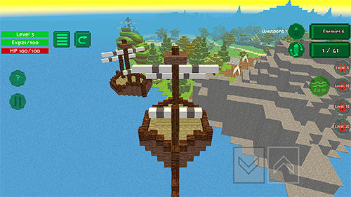 Blocky island rampage Screenshot