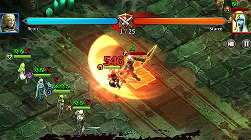 Strategie RPG Demon blaze auf Deutsch