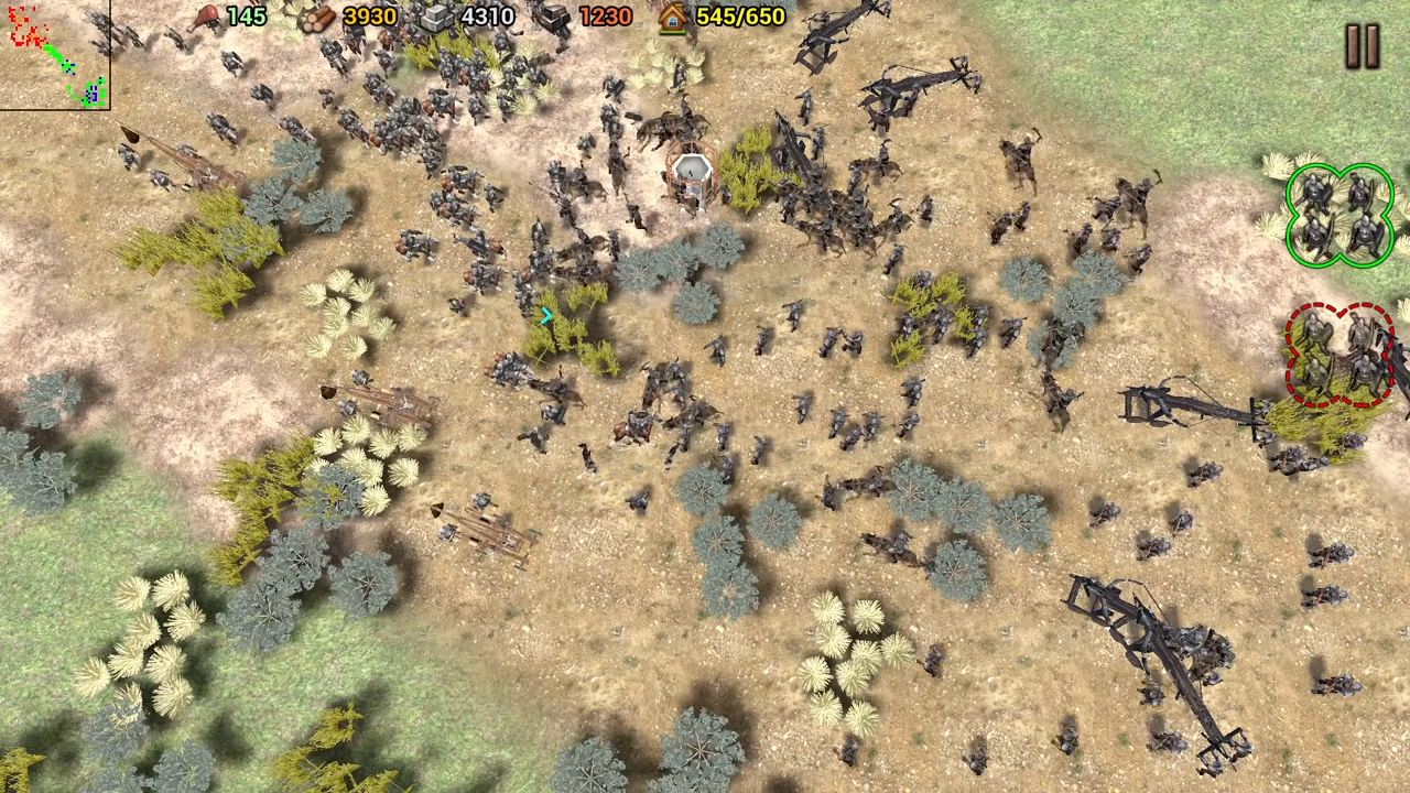 Shadow of the Empire: RTS pour Android