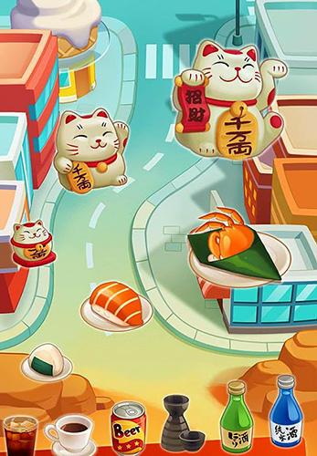 Arcade-Spiele Ramen master für das Smartphone