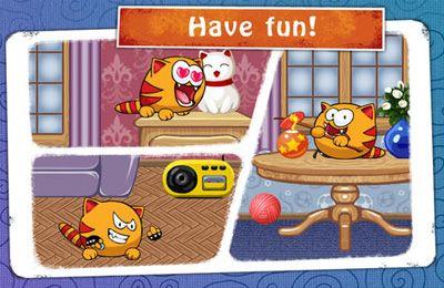 Screenshot Miau Sim auf dem iPhone