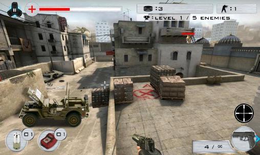 de stand de tir Strike shooting: SWAT force en français