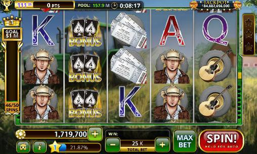 Jason Aldean: Slot machines Screenshot